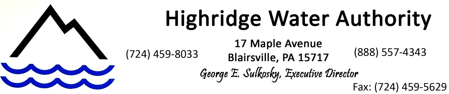 Highridge Water Authority